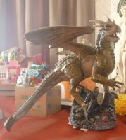 Dragonheart: Draco modelkit painted by Nero749