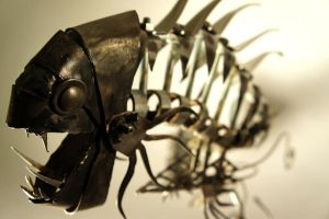 Scrap Metal Fishy - 5 by Devin-Francisco
