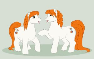 MLP - Weasley Twins by uppuN