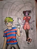 Jacksepticeye- Spiders ? by CrazyPanthery
