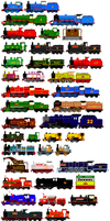 Thomas and Friends Animated Characters 6 by JamesFan1991