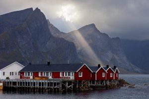 Rorbuer Sunbeam by Dave-Derbis