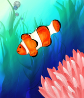 Clownfish! by clayangel