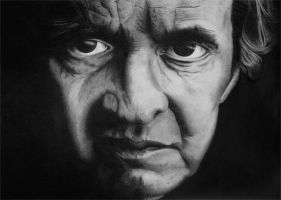 Johnny Cash by Pat-Purcell