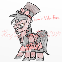 Toon's Valor Form by HayleyCometra