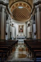 SAint Roses's church in Viterbo by Tiris76