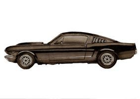 Mustang Fastback by RJPMartin