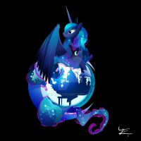 Princess Luna by Ilona-the-Sinister