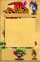 Jak and Daxter Journal Skin by ShadowJournals