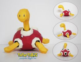 Pokemon Papercraft - Shuckle by PaperBuff