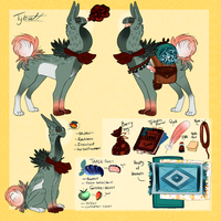 Tybalt Ref by MrGremble