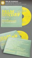 Palm Sunday CD Artwork Template by loswl