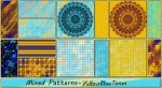 Mixed Patterns-YellowBlue Tones by allison731