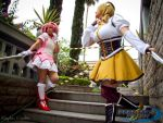 Mami and Madoka by absolutequeen