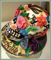 Sugar Skull and Roses by gertygetsgangster