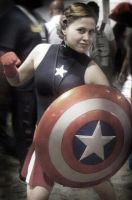 Femme Captain America Cosplay by MelZayas