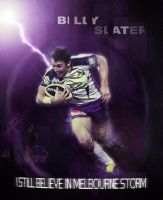 Billy Slater by buckyj