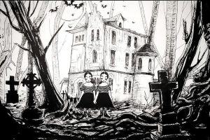 Drawlloween 4 Mansions and Manors by asunder