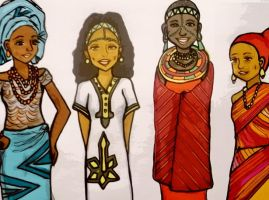 African women traditional dresses2 by ugGOchi