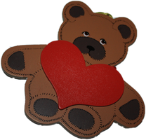 Cute bear cutout PNG by asphyxiate-Stock