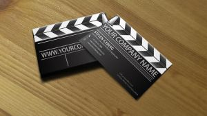 Film Director business card 2 by Lemongraphic