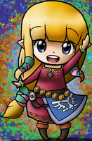 Chibi SS Zelda - FINISHED by juanito316ss