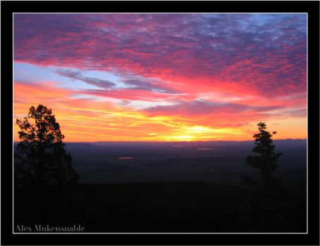 New Mexico Sunrise by Alexbalix