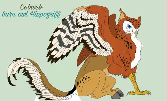 Hippogriff OC by Neonwolf2303