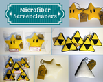 Microfiber Screencleaners by WolfPink