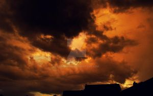 Cloud Gazing Before a Storm... by LostThyme