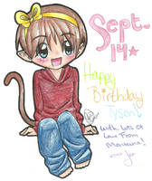 Happy Bday To You, Tyson :D by Jen-the-Idiot