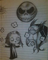Jack and Lenore by Cathy-VanAwesome