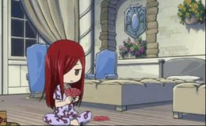 Erza Shuffling by RianonFTW