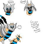 Shiny Giratina Origin Form By Shiny Giratina Altered Form
