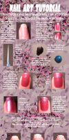 Easy nail art tutorial... by Ivoneishn
