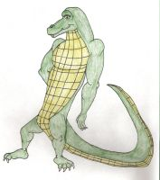 Larry the Gator by BlackBlueDawg
