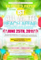 All White Beach Affair Invite by AnotherBcreation