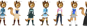 Neko Outfits by juanito316ss