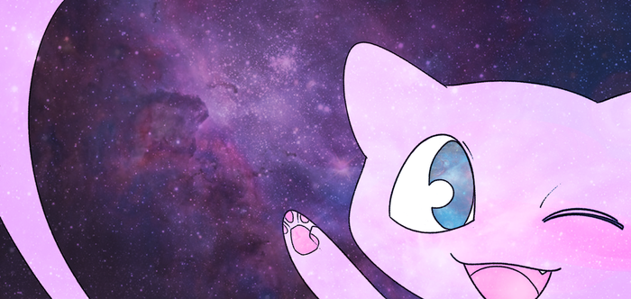 Cosmic Mew by silverfangcreations