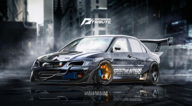 Speedhunters Mitsubishi Lancer EVO 9 _ NFS by yasiddesign