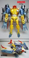 Beast Wars figures: Airazor. -Transmetal- by Lugnut1995
