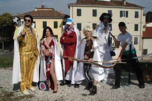 lucca comics 2009 one piece by hbn85