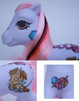 My Little Pony Stitch - Detail by eponyart