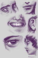 Study - Facial features by Alithographica