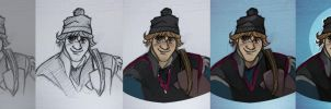 Kristoff - A Bit of a Fixer-upper - Steps by nataliebeth