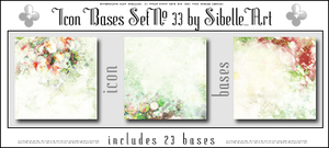Icon Bases Set No. 33 by Sibelle