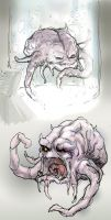 Krang the Brain - sketchee by thedarkcloak