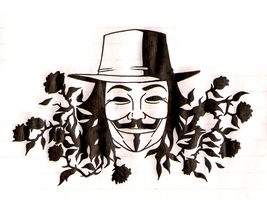 Guy Fawkes by kissy-face