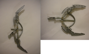 Bionicle MOC Idea: Fully Working Bow by Shorjok