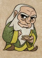 Uncle Iroh by virgiliArt